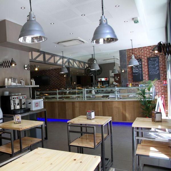 Architecte d 39 int rieur boulangerie et restaurant marseille for Amenagement cuisine restaurant